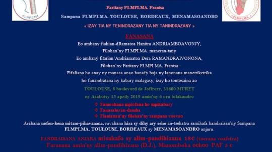 fanasana lanonana toulouse 13 04 19