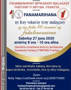Flyer-Iray volany teny malagasy 27 jona 2020